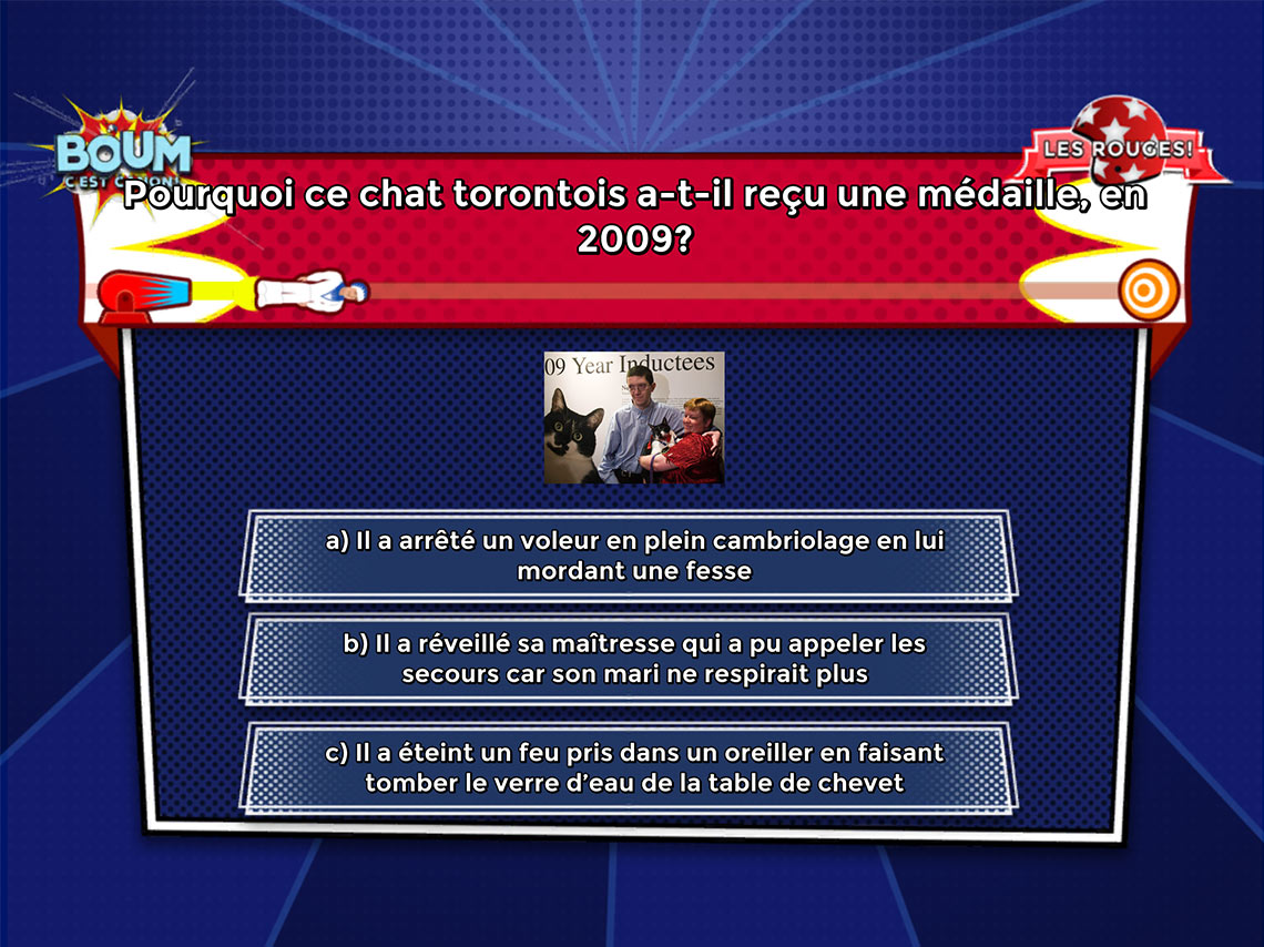 Capture Écran Interface Quizz